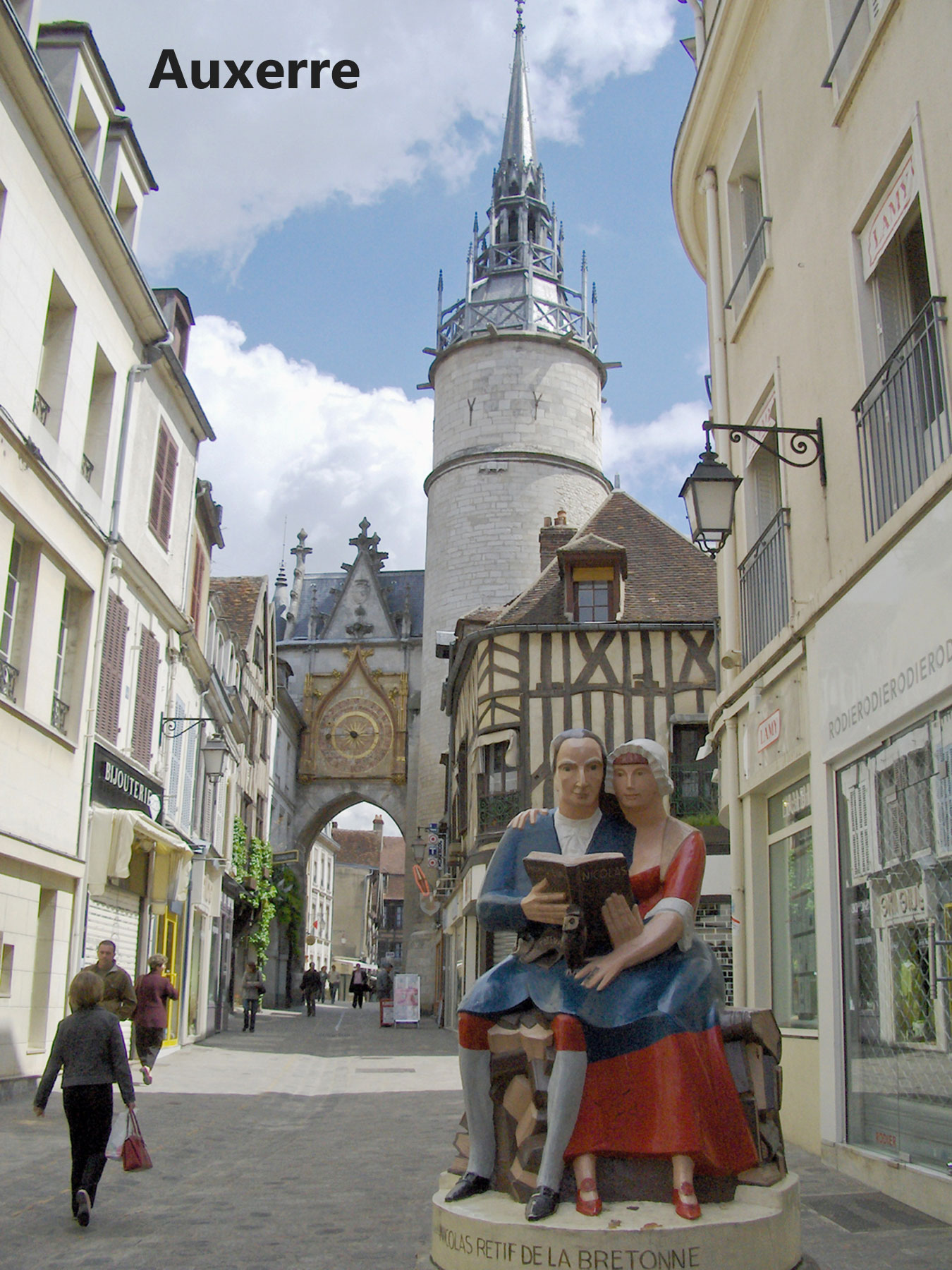 The yonne region of burgundy for Auxerre region