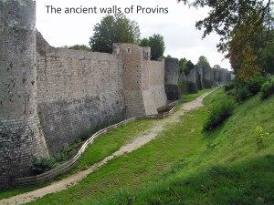 Provins-walls