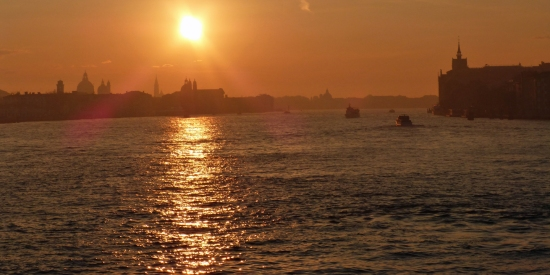 New Beginning: sunrise over Venice