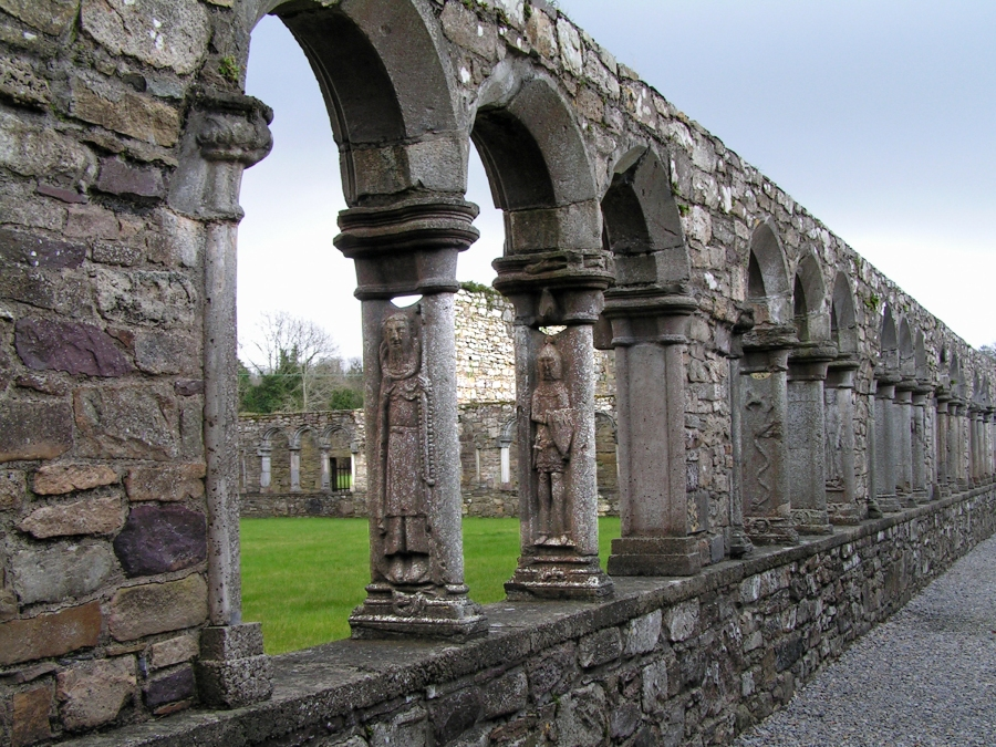 Jerpoint-Abbey-Cloisters