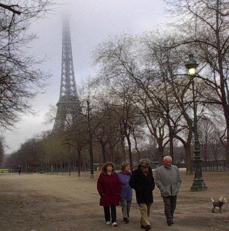 Old Paris friends