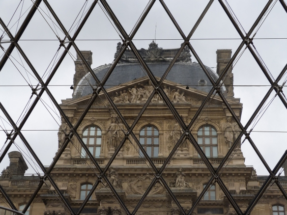 Louvre-through-the-Pyramid