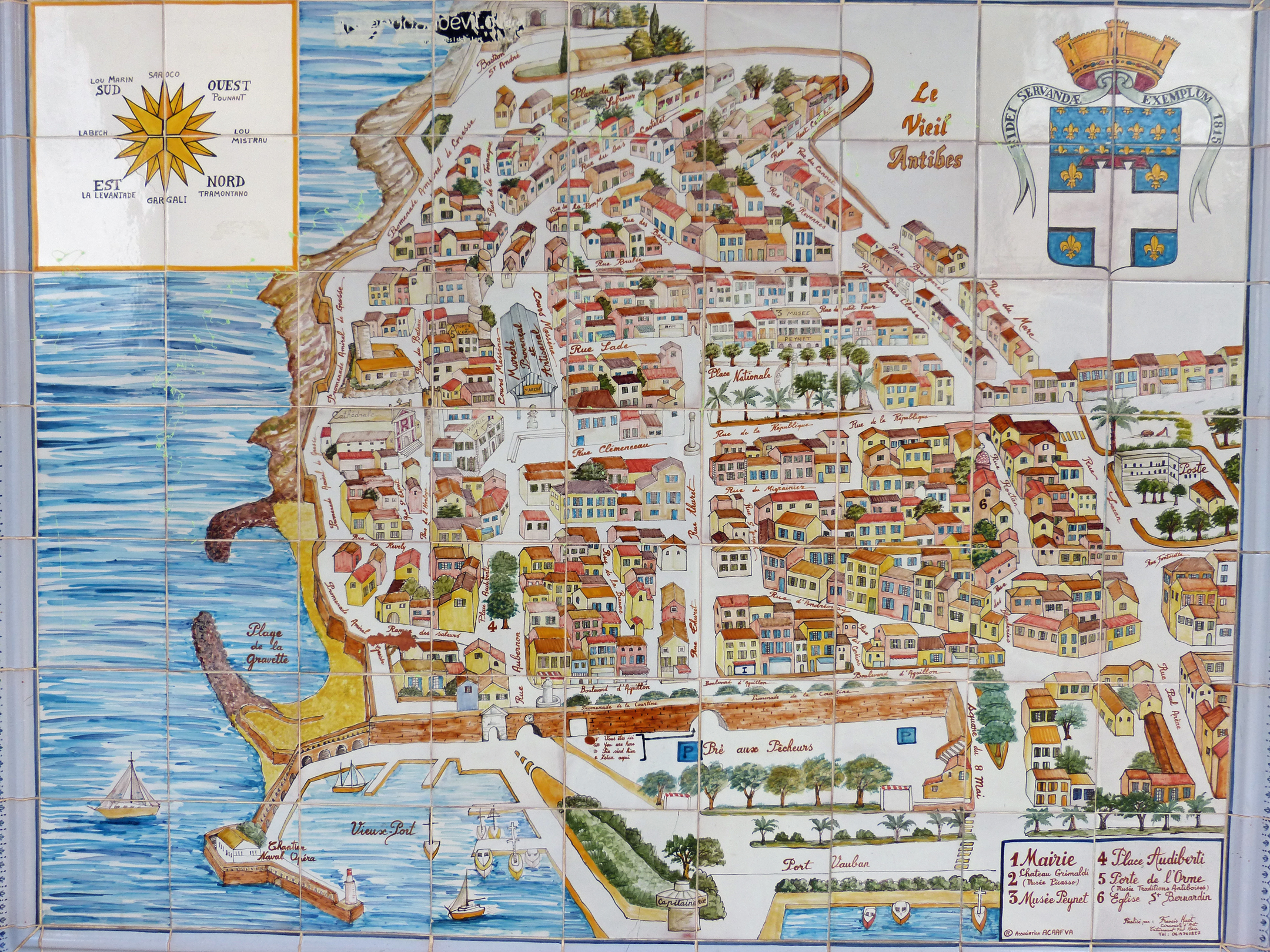 Antibes A Favorite of the Rich Famous