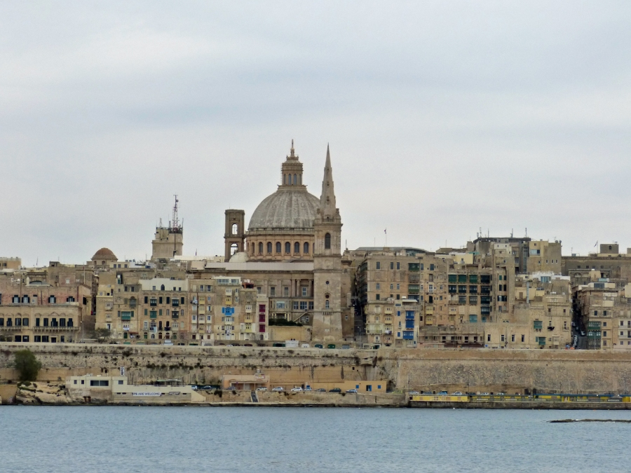 Valletta-approached-from-the-water