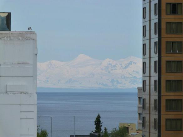 Mt McKinlay seen from Anchorage