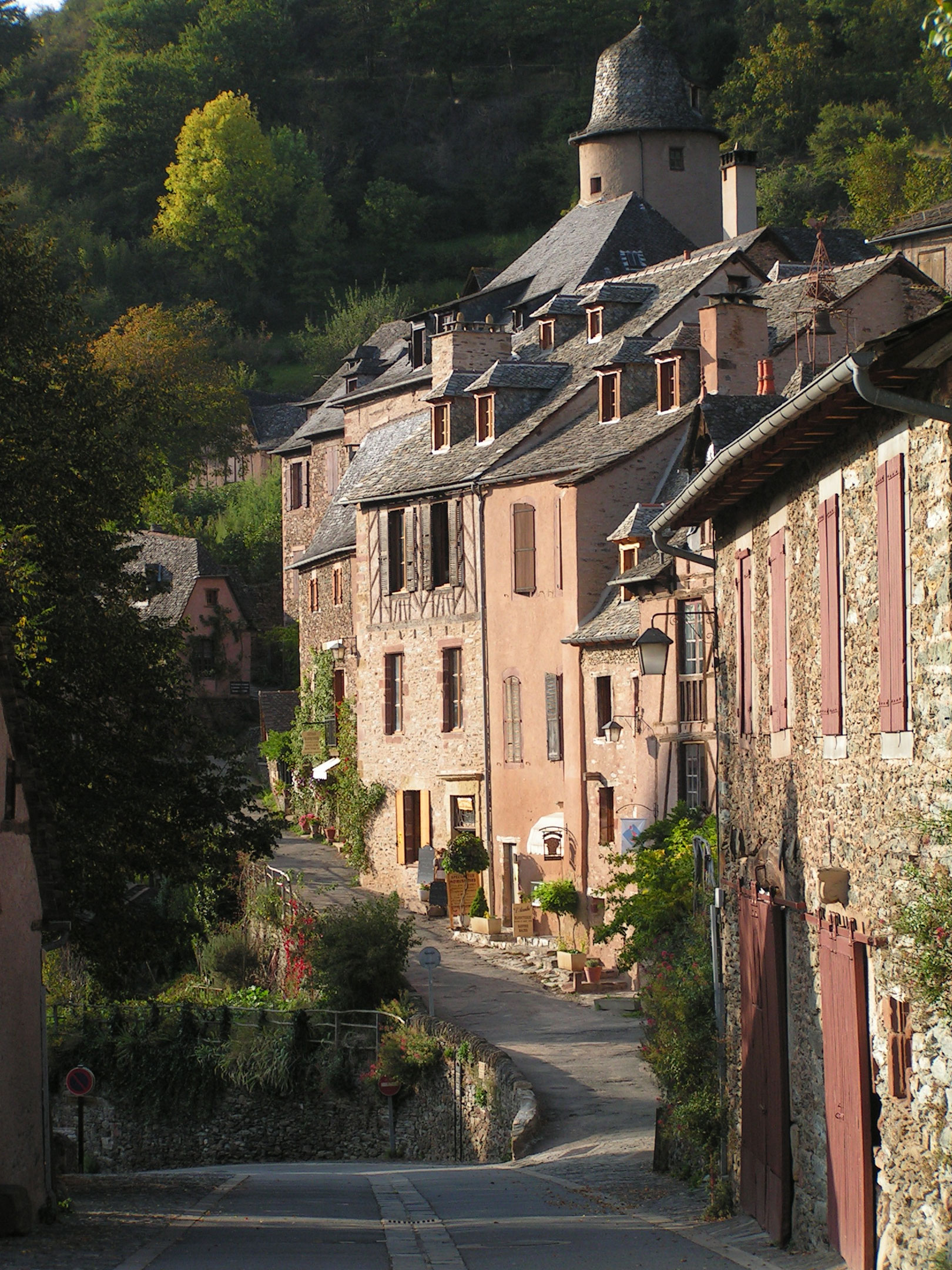 the most beautiful villages of france: medieval conques | in my